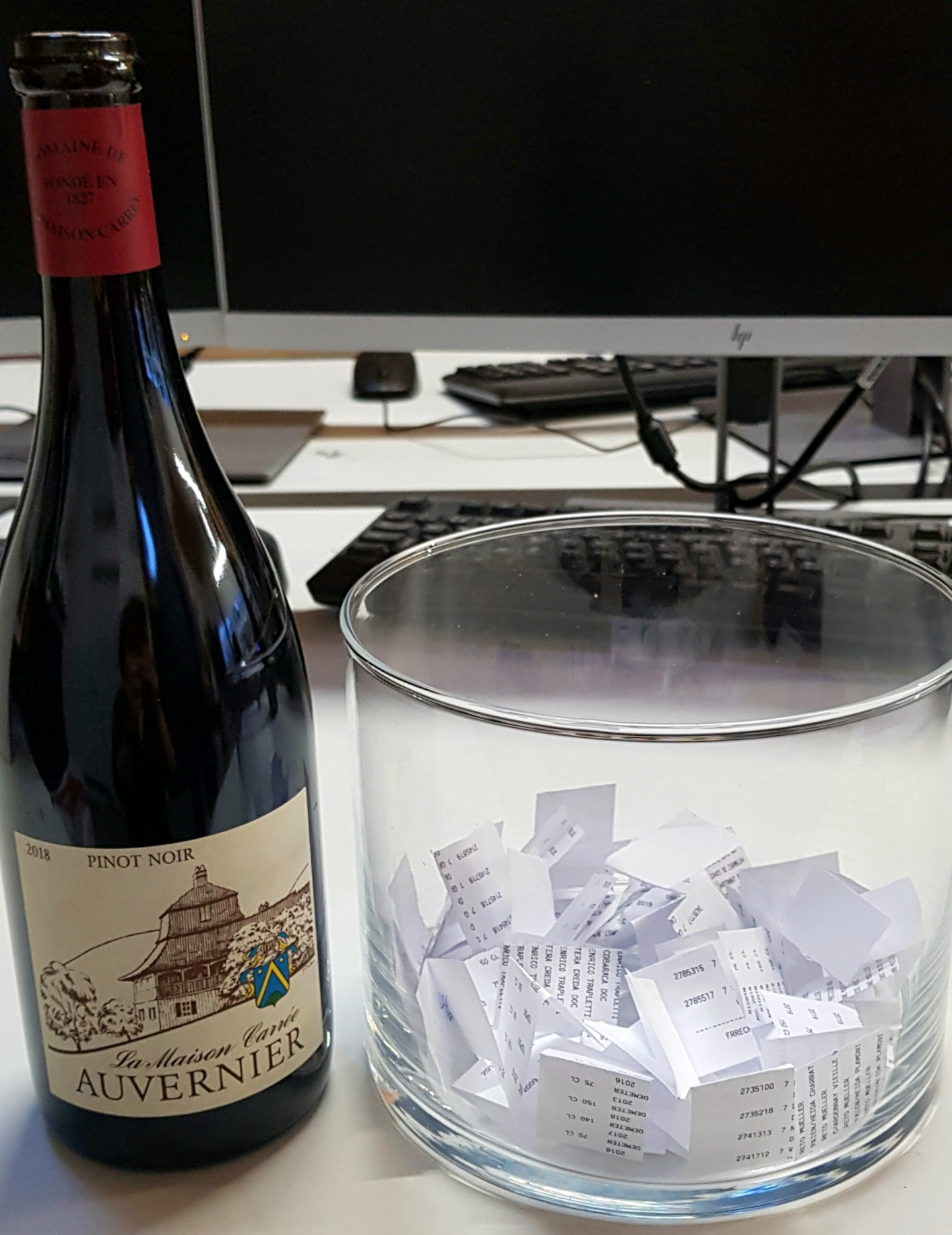 Verlosung vom Pinot Noir Auvernier 2018 von La Maison Carrée