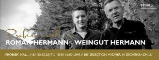 Probier' mal: Weingut Hermann // 23. Dezember 2017