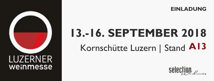 Luzerner Weinmesse // 13.-16. September 2018