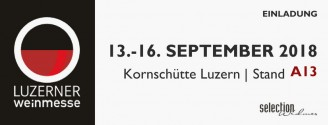 Luzerner Weinmesse // 13.-16. September 2018
