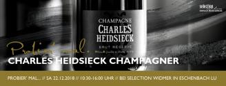 Probier' mal: Charles Heidsieck // 22. Dezember 2018