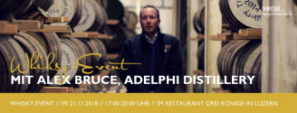 Whisky-Event: Adelphi Distillery // 21. November 2018