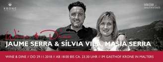 """Wine + Dine """"Schweiz trifft Spanien"""" // 29. November 2018"""