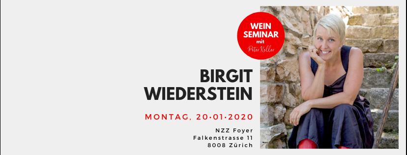 Weinseminar mit Peter Keller + Birgit Wiederstein // 20. Januar 2020