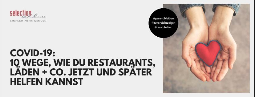 10 Wege, wie du Restaurants, Läden + Co. hilfst