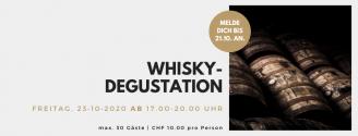 Whisky-Degustation // 23. Oktober 2020